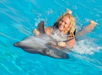 Zwemmen met dolfijnen in Alanya